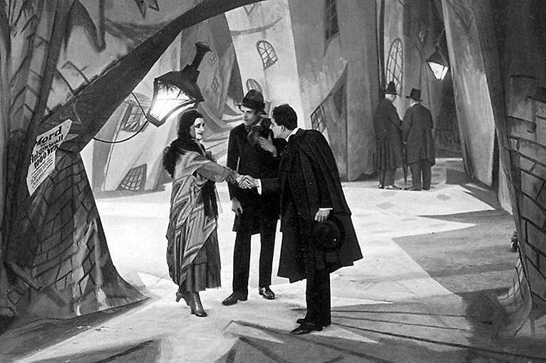 Kabinet doktora Caligariho s živou hudbou