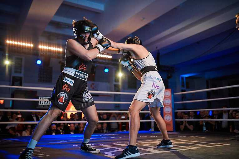 Gala Ultra White Collar Boxing