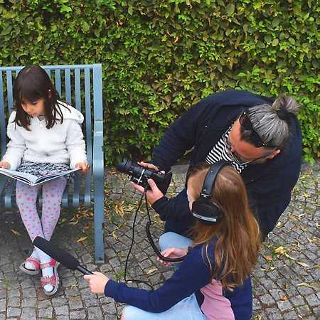 Dělat film: dětský filmový kroužek v centru Prahy