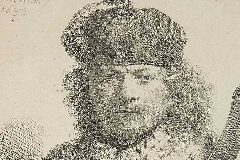 Rembrandt: Portrait of a Man