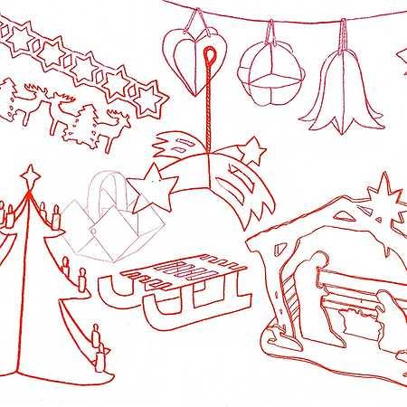Vánoční recyklodílna pro radost