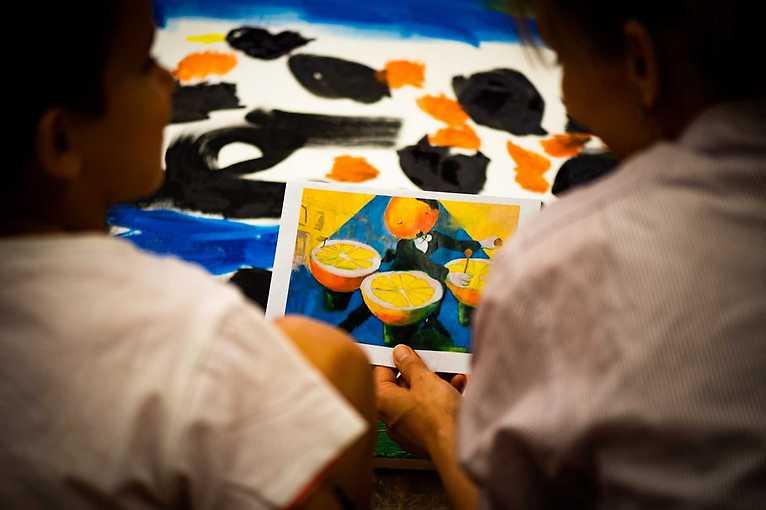 Vernisáž výstavy Re-shape/d: děti vs. umělci
