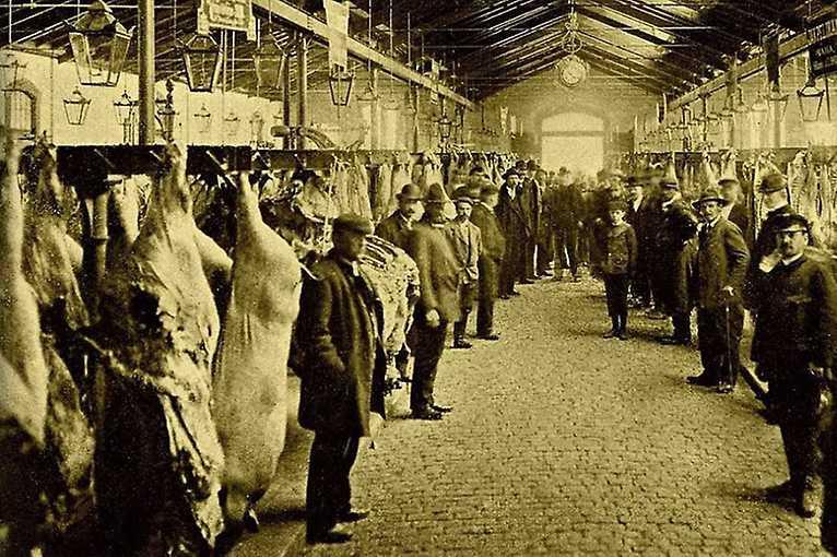 Pražská tržnice a Holešovice