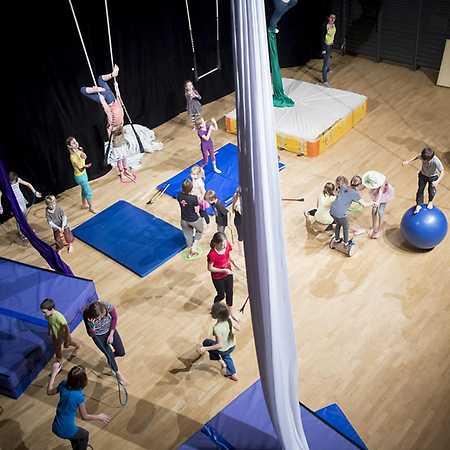 Cirkusový workshop pro děti a rodiče