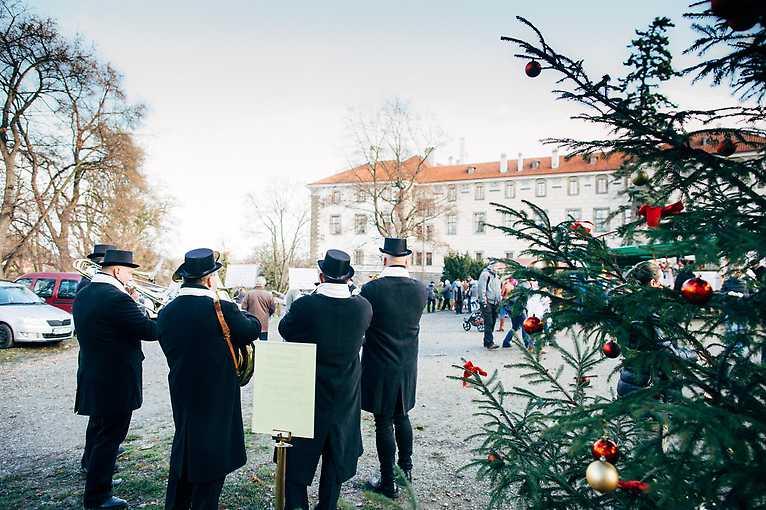 Adventní slavnosti na zámku Nelahozeves 2019