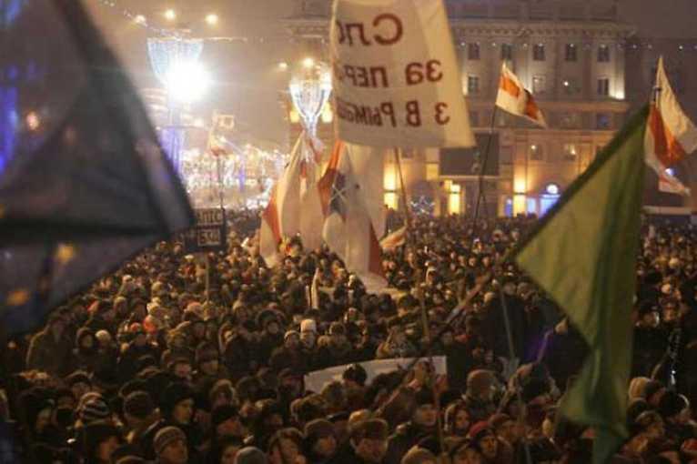 Běloruský sen a beseda