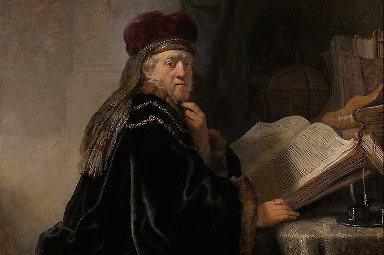 Rembrandt: Portrait of a Man