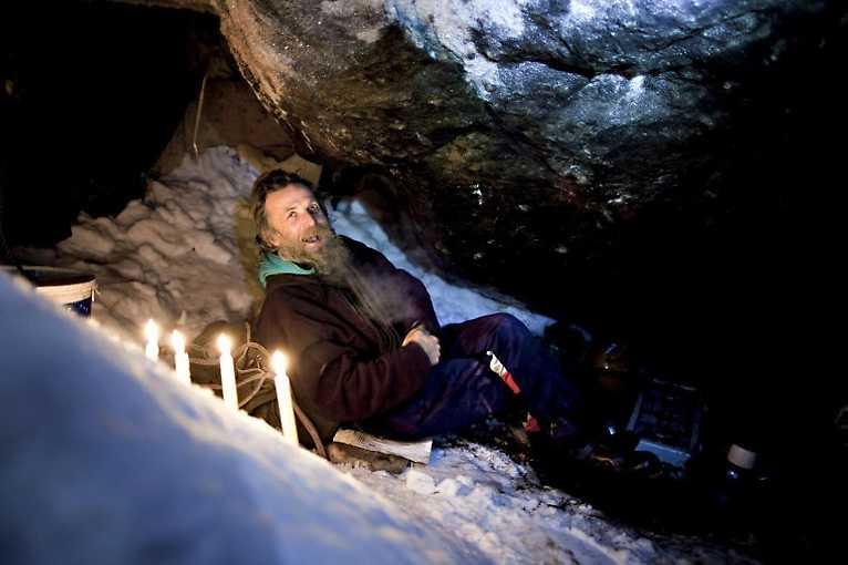 The Snow Cave Man