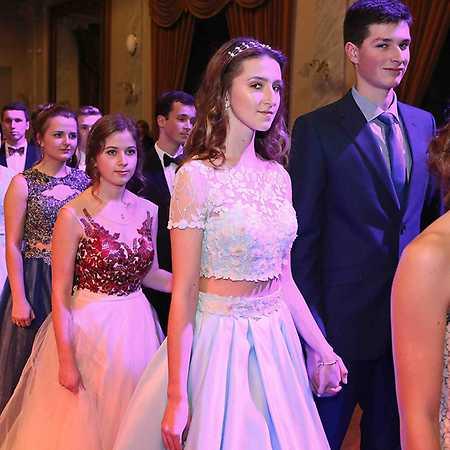1. závěrečný ples Taneční školy Sedlecký