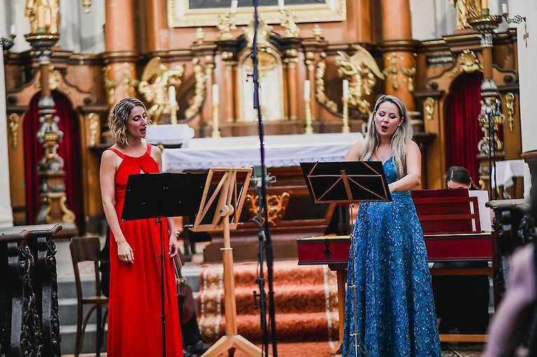 Vánoční koncert Terezy Bortlové a Simony Jindrákové