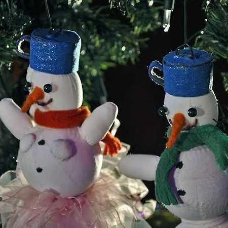 Vánoční svatba sněhuláka Karla