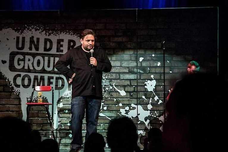 Stand-up show s Underground Comedy v Brně