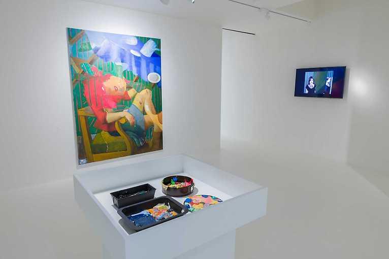 Komentovaná prohlídka výstavy Retina: Možnosti malby (1989–2019)