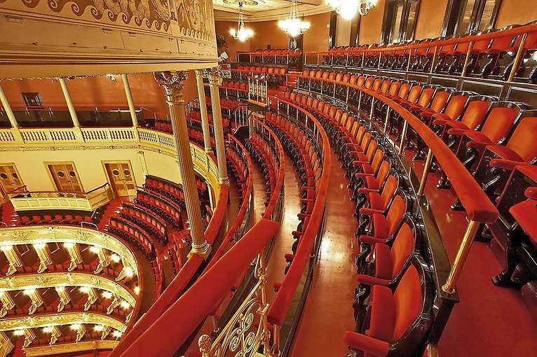 Prohlídka Národního divadla