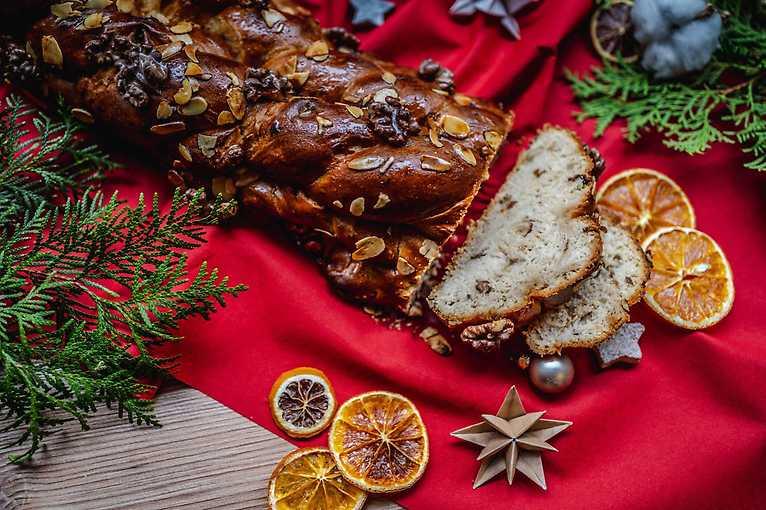 Vánoční snídaně a večerní punč