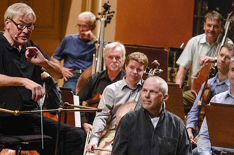 Czech Philharmonic – An Orchestra Rehearsal