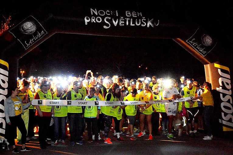 Noční běhy pro Světlušku 2020