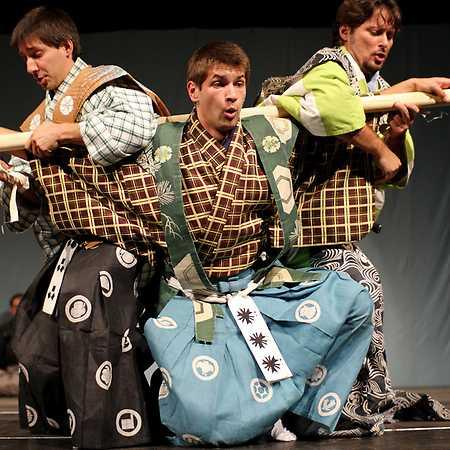 Kjógeny – tradiční japonské frašky / samurajské komedie