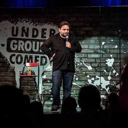 Stand-up show s Underground Comedy v Plzni