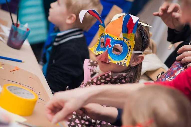 Tradiční řemeslné dílny pro děti: Masopustní masky