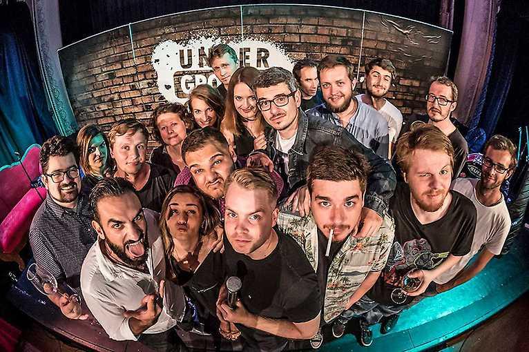 Stand-up show s Underground Comedy v Litomyšli