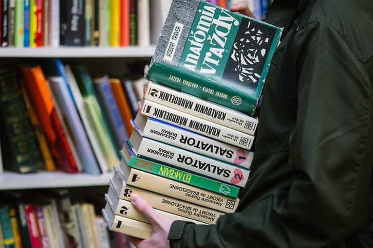 Novoročná bratislavská knižná burza