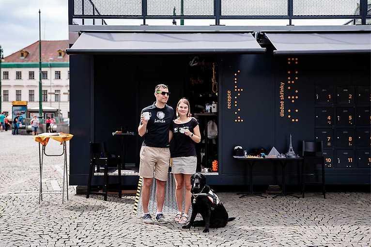 Kavárna Potmě –  regiony