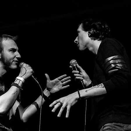Duo slam poetry