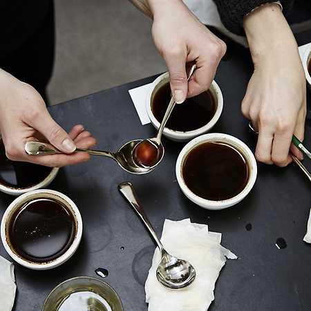 Cupping neboli degustace kávy