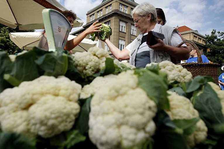 Farmářské trhy na Kulaťáku 2020