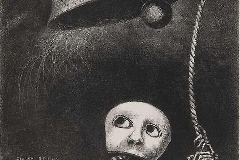 Odilon Redon – À Edgar Poe