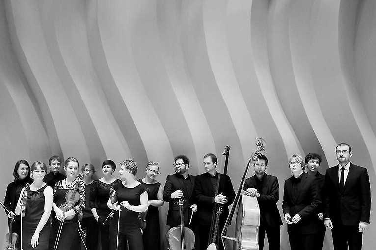 Instrumentální program zděl kapelníků a koncertních mistrů Dresdner Hofkapelle