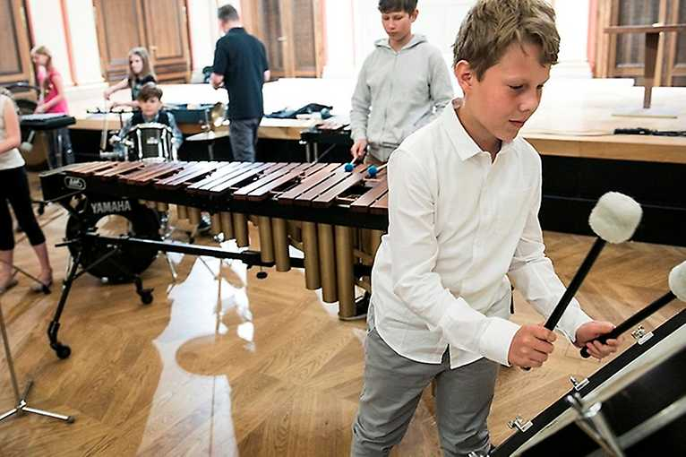 A Morning with Musicians of the Philharmonic: From the Percussion Kitchen…