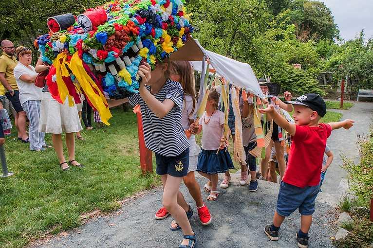 Letní artcamp: Ze zahrádky do pohádky