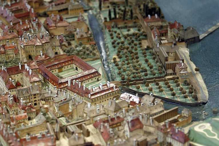 The Langweil model of Prague