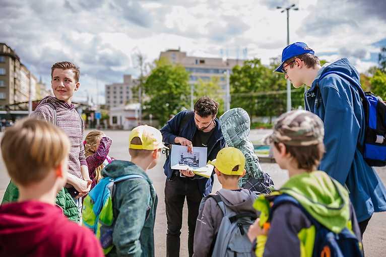 Děti v CAMPu: Objevujeme město