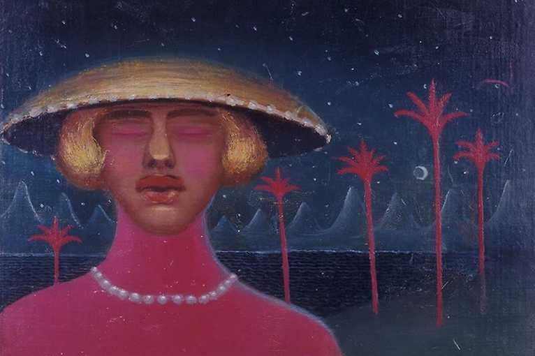 Barevné dopoledne: Autoportrét v klobouku