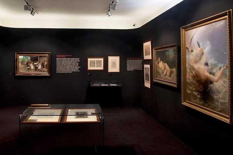 Od práce k zábavě – Podoby volného času v umění 19. století
