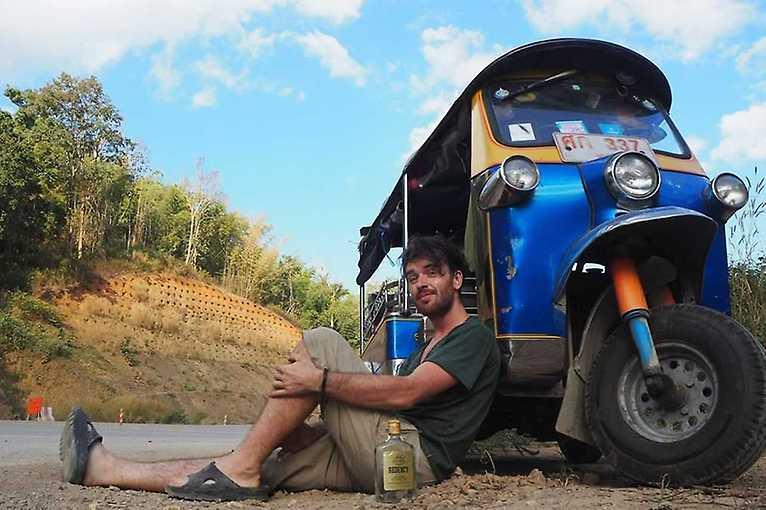 Tomáš Vejmola: S tuktukem z Bangkoku domů