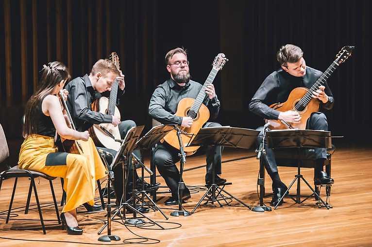 Prague Guitar Forum – koncert: Erlendis Quartet + Duo Baumbach