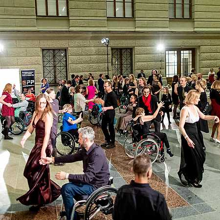 Ples na kolečkách aneb Přijeďte roztančit Národní muzeum
