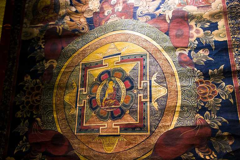 The secret life of collections: Mongolia and Buddhism