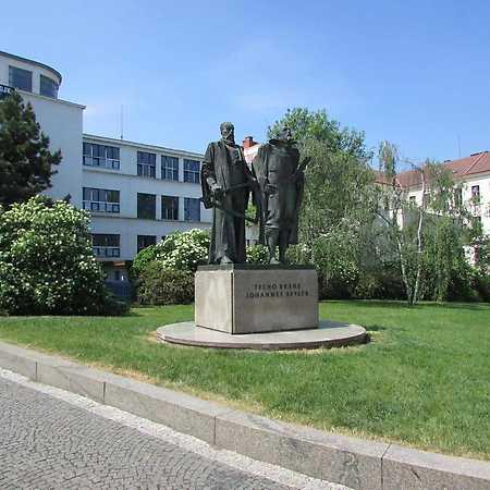Sousoší Tychona Brahe a Johanna Keplera