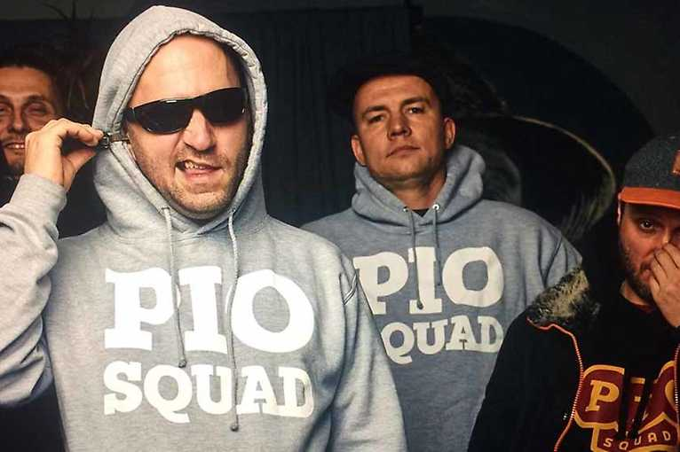 Pio Squad + Zverina + Afu-Ra