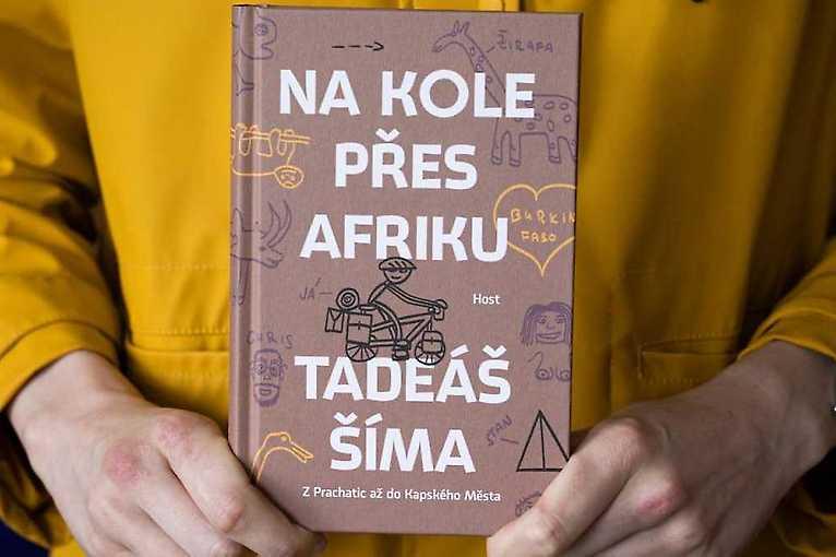 Křest knihy Na kole přes Afriku