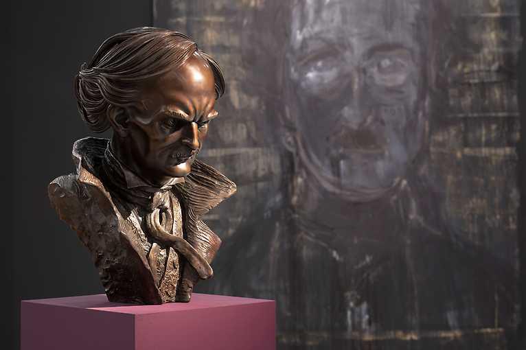 Komentovaná prohlídka výstavy Sen ve snu + přednáška: Edgar Allan Poe a jeho vliv na film