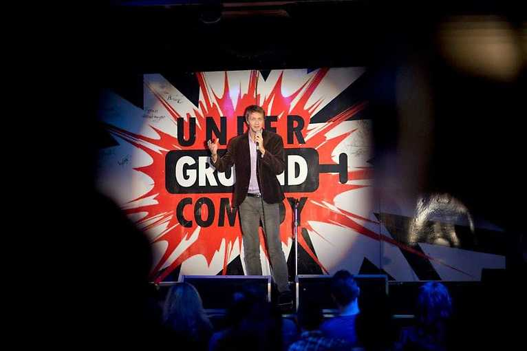 Underground comedy: Stand-up show