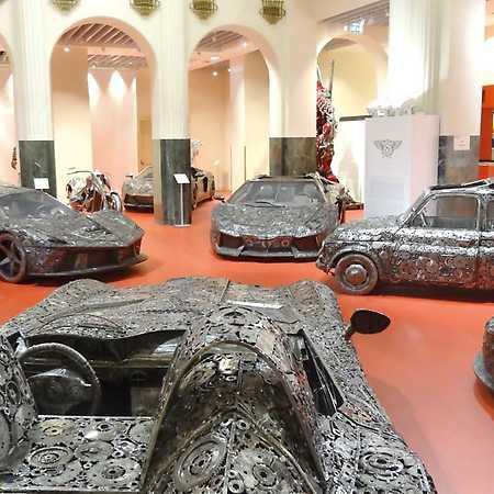 Gallery of Steel Figures Prague