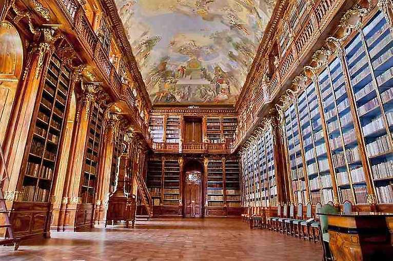 Privátní návštěva Strahovské knihovny