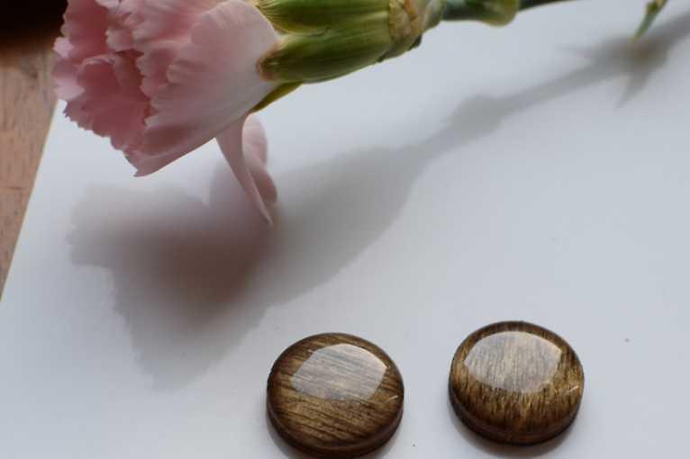 Stara para nowy wzór: Robimy drewniane kolczyki